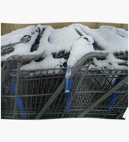 Snow Buggies Poster