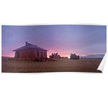 Burra Ruin, early Dawn  Poster