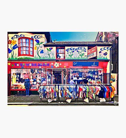 Shopping In Brighton Photographic Print