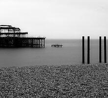 Brighton West Pier by Mattia  Bicchi Photography