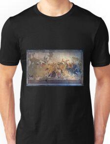 Battle of Alexander the Great and Darius III mosaic  Unisex T-Shirt