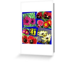 Twice as Nice - Floral Collage Greeting Card