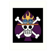 Spade Pirates - One Piece Art Print