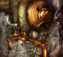 Steampunk - Naval - Shut the valve  by Mike  Savad