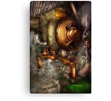 Steampunk - Naval - Shut the valve  Canvas Print