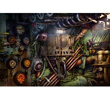 Steampunk - Naval - The comm station Photographic Print