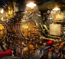 Steampunk - Naval - The torpedo room by Mike  Savad