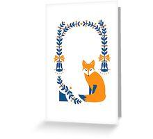 Little Folk Fox Greeting Card