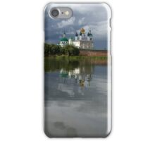 Christian monastery in Rostov, Russia. iPhone Case/Skin