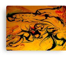 Martian desert Canvas Print