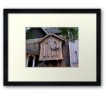 Crooked and Haunted Framed Print