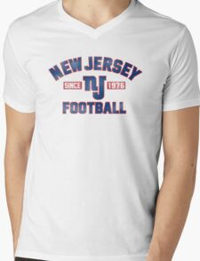 New Jersey Giants Mens V-Neck T-Shirt