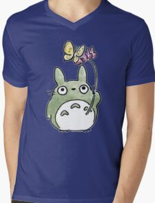 Totoro My Neighbour Totoro Mens V-Neck T-Shirt