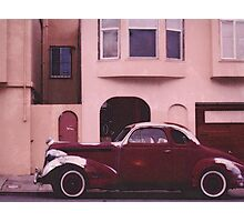 1936 Buick Coupe (or Pontiac?) Photographic Print