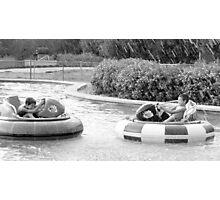 Bumper boat fun! Photographic Print