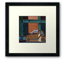 Smart Car Dream Abstract Framed Print