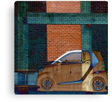 Smart Car Dream Abstract Canvas Print