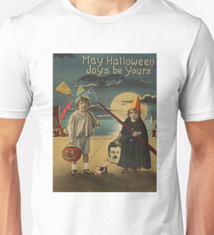 Halloween Card of Horror  Unisex T-Shirt
