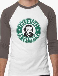 Foxy Stoat On The Prowl Men's Baseball ¾ T-Shirt