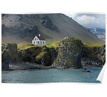 Traditional iclandic house Poster
