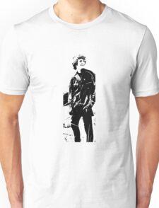 Man on a mountain Unisex T-Shirt