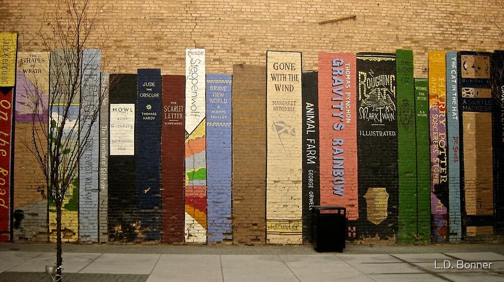 Urban Bookshelf by L.D. Bonner