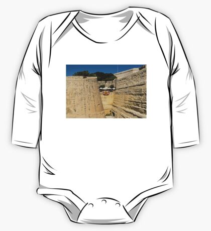 Maltese Knights Legacy - Valletta City Walls Cafe Open for Business One Piece - Long Sleeve