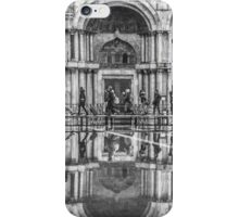 Crossing St Mark's Square, Venice, Italy iPhone Case/Skin