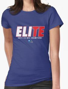 ELIte (blue variant) Womens Fitted T-Shirt