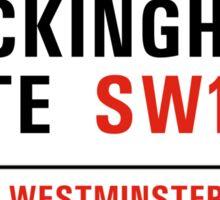 Buckingham Gate, London Street Sign, UK Sticker