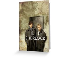 BBC Sherlock Greeting Card