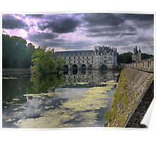 Reflecting On Chenonceau ( 11 ) Poster