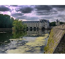 Reflecting On Chenonceau ( 11 ) Photographic Print