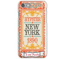 Vintage Hipster Labels iPhone Case/Skin
