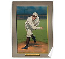 Benjamin K Edwards Collection Bugs Raymond New York Giants baseball card portrait Poster