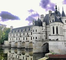 Reflecting On Chenonceau ( 7 ) by cullodenmist
