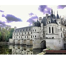Reflecting On Chenonceau ( 7 ) Photographic Print