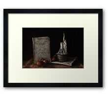 American Cookery Framed Print