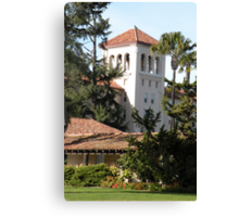 Nobili Hall, Santa Clara University Canvas Print
