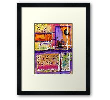 Cheery Thoughts - Warm Wishes Framed Print
