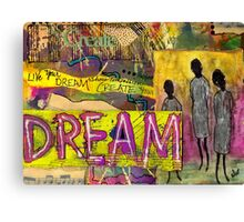 The Dream Trio Canvas Print