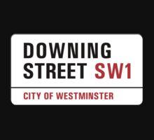 Downing Street, London Street Sign, UK One Piece - Short Sleeve