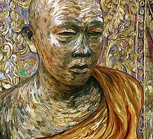 Gold Leaf Monk by EricKuns