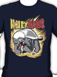 Honey Badger. He's OVER 9000!  T-Shirt