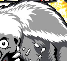 Honey Badger. He's OVER 9000!  Sticker