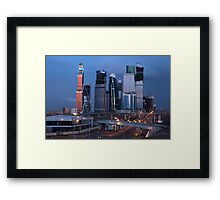 Moscow Russia Framed Print
