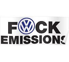 VW Diesel Humor Poster