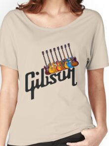 Gibson Les Paul Guitar Medley T2 Women's Relaxed Fit T-Shirt