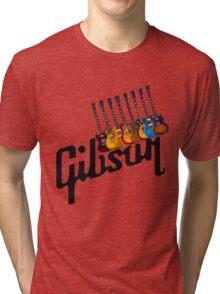 Gibson Les Paul Guitar Medley T2 Tri-blend T-Shirt