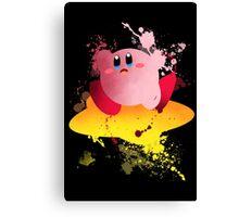 Kirby Art Print Canvas Print